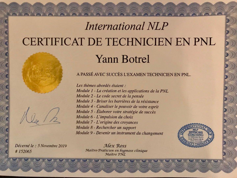 Technicien en PNL
