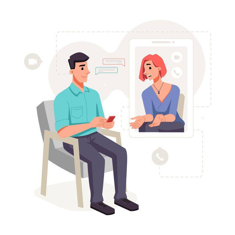 Teleconsultation a distance addictologue